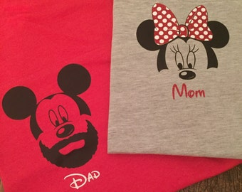 Mickey/Minnie Mouse Family Shirts