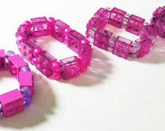 Finky Dink Lego Brick Bracelets