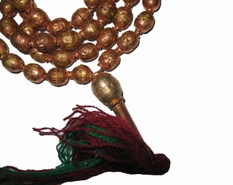 Ethiopian Copper Selam Prayer Beads