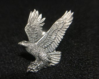 "1990s ""Flying Eagle"" Siskiyou Pewter Pin (Made in USA)"