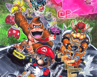 Welcome to Mario Kart!