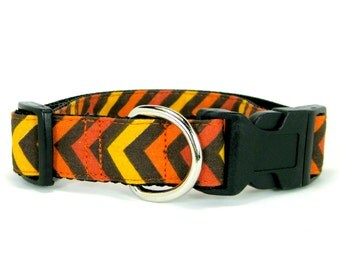Fall Dog Collar/Thanksgiving Dog Collar(Mini,X-Small,Small,Medium ,Large or X-Large Size)- Adjustable