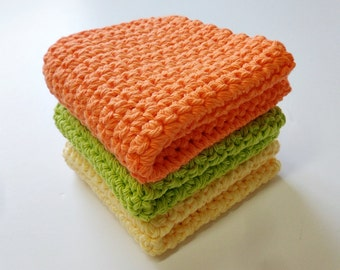 Crochet / Y-O-G dish cloths