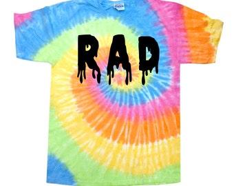 Rad Pastel Tie Dye T-Shirt