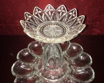 2-Teired Glass Jewelry Organizer