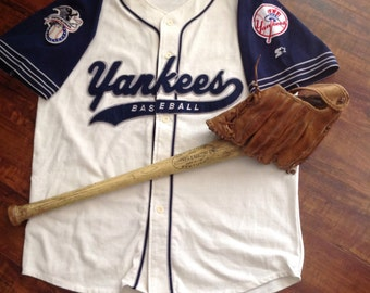 Retro STARTER NY Yankees Jersey - Large - MLB - Starter  jersey - Throwback jersey