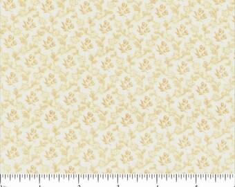 Yardage of Choice Fabrics BD 21113 B03 Tan on White Tone on Tone