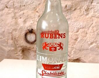 Old lemonade bottle RUBENS