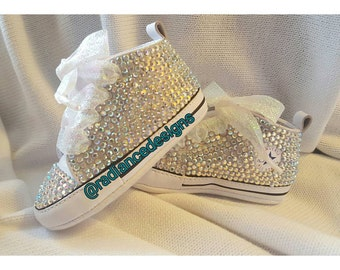 Fully Bling Infant Converse