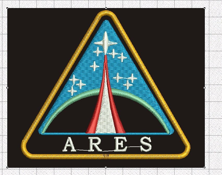 Nasa space patch nasa name patch machine embroidery design for Space embroidery designs