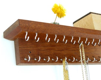 NECKLACE / CHAIN HOLDER - Jewelry Organization - Bridesmaid Gift