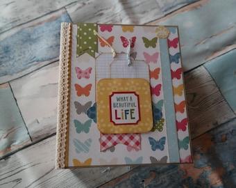 """Mini album """"life"""" 15 x 17,5 cm (6 x 7-inch)"""