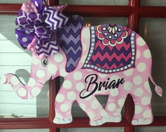 Miss. Pinky elephant