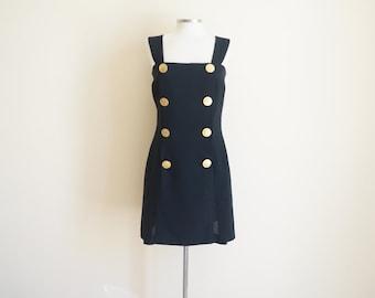 Vintage 90s Medallion Dress