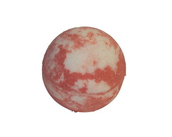 Christmas Peppermint Scented Bath Bomb, 3 ounces, Diva Stuff