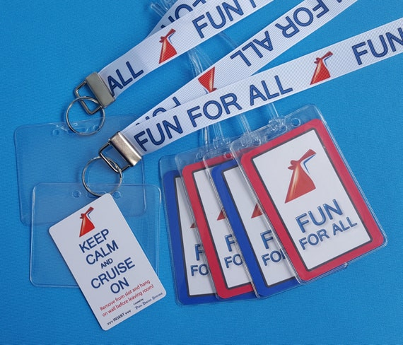 carnival cruise gift card cruise gift set lanyards luggage tags light card 7361