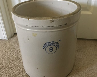 6 Gallon Crock Etsy