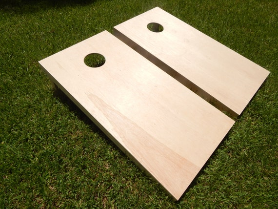 Handmade 3 4 Regulation Cornhole Board Set