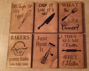 Kitchen Sign Set