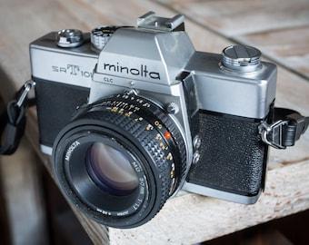 Vintage Minolta SRT-101 35mm Film SLR Camera with Lens -=Bargain=-