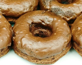 Chocolate Donuts (Gluten-Free) (Vegan Also Available)