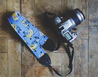 Minions Digital SLR Camera Strap Handmade