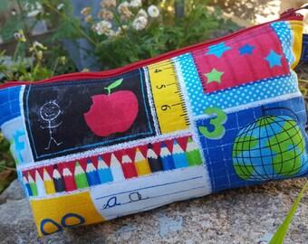 Escuela temática estuche, bolso de escuela del accesorio