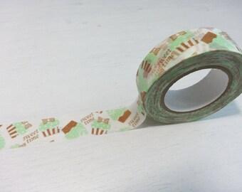 Yummy Cupcake Butterfly Washi / Masking Tape - 15mm x 12M