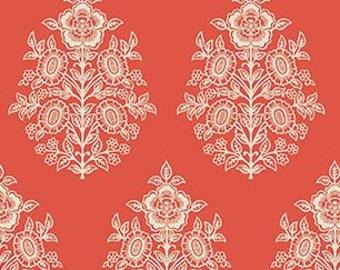 Joel Dewberry Botanique 'Provincial' in Sunset Cotton Fabric