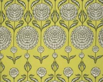 Joel Dewberry Birch Farm 'Chrysanthemum' in Sage Cotton Fabric