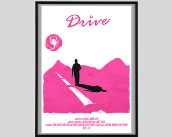 Drive, Print, Movie, Gift, A2