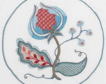 Crewel Embroidery Kit - SNOW BERRIES