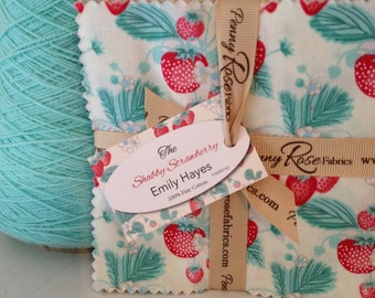 "5"" 42 Piece Stacker-'The Shabby Strawberry' by Emily Hayes for Penny Rose Fabric"