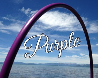"Purple Colored 3/4"" or 5/8"" PolyPro Hula Hoop - You pick the size - by Colorado Hula Hoops"