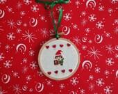 Santa Link Ornament