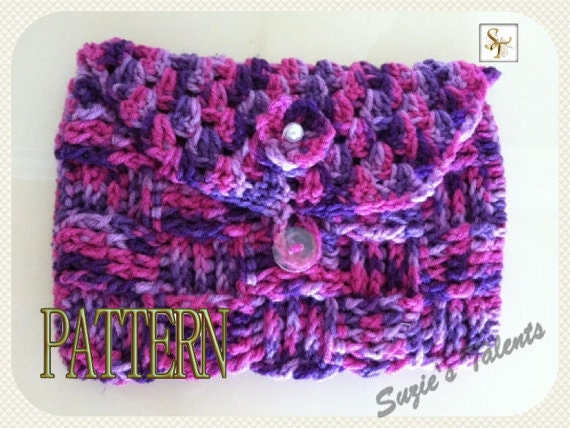 Crochet Boho Bag Pattern : Book Clutch Pattern Crochet Bible Clutch Crochet Book Bag