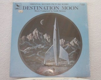 Destination Moon Original Motion Picture Soundtrack vinyl record, Composed by Leith Stevens