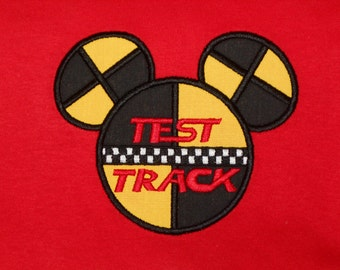 Test Track Mister Mouse T Shirt - Magical Family Vacation Personalized - Epcot