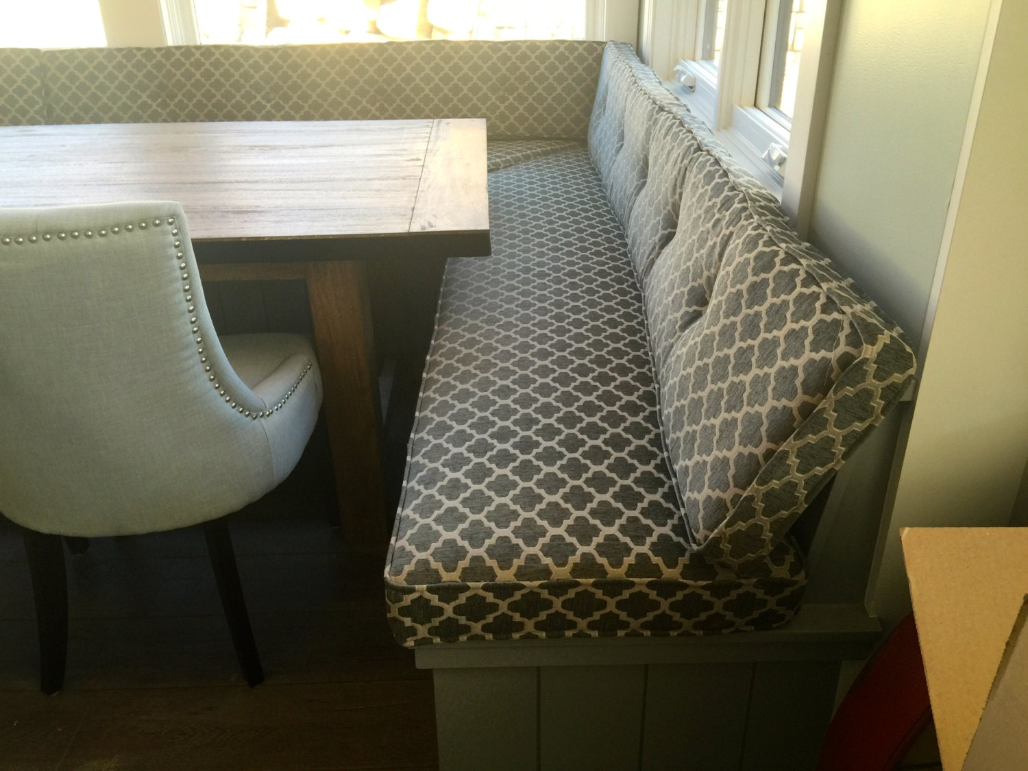 Kitchen Dining Bench Cushions Custom Made Example Listing