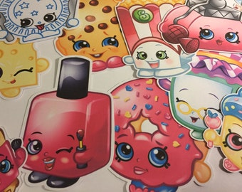 Shopkins Die Cuts Qty 1