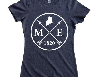 Homeland Tees Maine Arrow Women's T-Shirt
