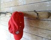 Wooden Vintage Baseball Bat Cap or Coat Rack Bat
