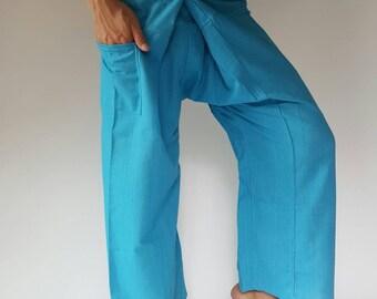 TP0001 fisherman pant thai yoga pant pants men's Fashion fit for all