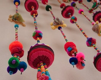 100% Handmade Cute Doll Beads Curtain For Home Decoration