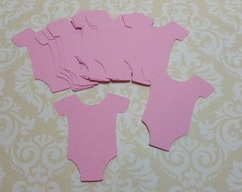 Die Cut  Baby Onsies. Tag/Labels  Baby Shower... #MO-7