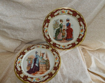Vintage Daher Decorated Ware made in Holland set of 2