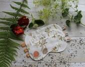 Ivory floral print sleep mask***SALE***