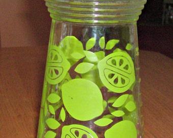 Vintage Lime Juice Glass Carafe/Decanter