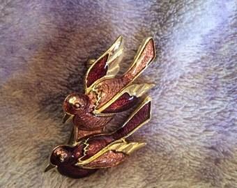 Bird brooch 2 in