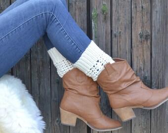 Boot Cuffs, boot socks, leg warmers, legwarmers, boot toppers, knit boot cuffs